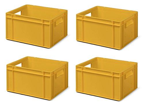 200x100x120mm Euro-Transport-Stapelbox TK200//120-1 Wände durchbrochen