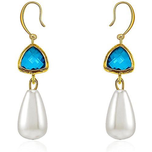 mehrfarbig-bling-edelstein-weiblich-diy-mit-weiss-simuliert-pearl-drop-ohrring