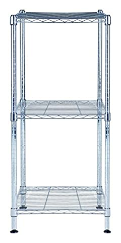 Alba mobi3s Desk Shelf Metal Metallic 370x 635x 108cm