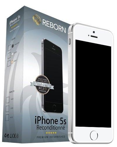 Reborn IPhone 5s Reconditionné Smartphone débloqué 4G (Ecran: 4 Pouces - 32 Go - Nano-SIM - iOS) Arg