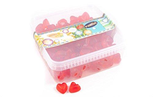 Deine Naschbox - Fruchtgummi Kirsch Herzen - 1kg Box