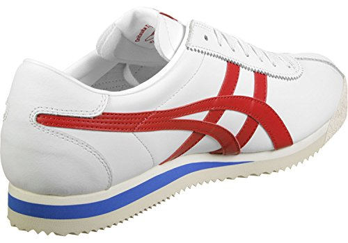 Onitsuka Tiger - Tiger Corsair White/True Red - Sneakers Homme blanc rouge bleu