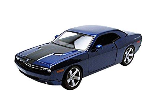 maisto-36138-bl-dodge-challenger-concept-car-2006-1-18-scala