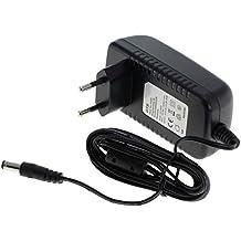 Rydges SpeedPower por fuente de alimentación conmutada OTB estabilizada 12V 1.5A (por Bose SoundLink Mini Altavoz Bluetooth / AVM FRITZ! Box / Cisco / Draytek / Huawei / Linksys / Netgear / Netopia / Telekom / T-Com Speedport / Vodafone / Western Digital My Book etc. ) --- lista de compatibilidad es la descripción