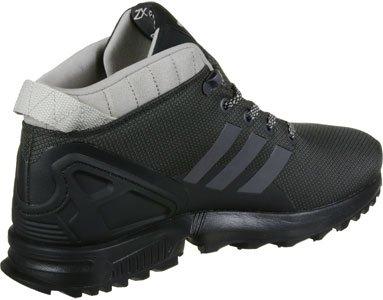 adidas Zx Flux 5/8 Tr, Sneakers Hautes Homme Noir
