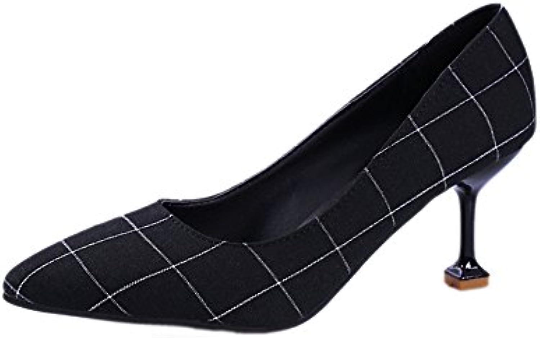 8aa8d6956b12b0 le réseau a tyaw chaussures femmes talons b078wbhvw9 tissu superficiel  superficiel superficiel bouche toile parent | Pas Chers d3368d