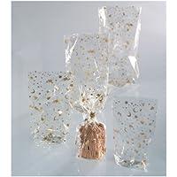 Folia Zellglasbeutel mit Weihnachtsdruck