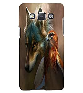 Citydreamz Wolf\Eagle\Wild Hard Polycarbonate Designer Back Case Cover For Samsung Galaxy On7 Pro
