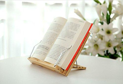 Libro Stand 33 (W) * 23 (H) cm Biblioteca de Lectura de Madera Sólida