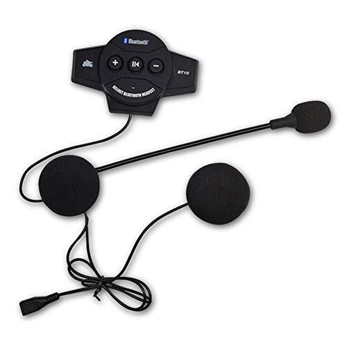 Motorradhelm-Headset, Motorrad, Bluetooth, BT Helm, Interphone Kommunikation System, Headset, Gegensprechanlage für Reiten, Skifahren, freihändig, Stero-Sound -