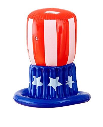 blasbar, Vereinigte Staaten Amerika Uncle Sam Nationalfeiertag Hut Hüte (Uncle Sam Kostüm Frauen)