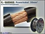 ACV 276347 Stromkabel, 35 mm², 100 m Länge, Schwarz/Transparent