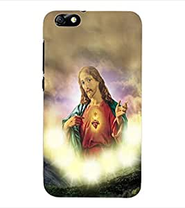 ColourCraft Lord Jesus Back Case Cover for HUAWEI HONOR 4X