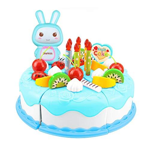 weihill Enfants Jouet De Gâteau d'anniversaire Set Fruits...