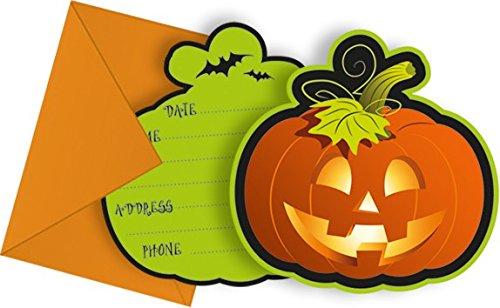 Kostüm Party Einladungen Halloween - Procos Happy Halloween (New) Einladungskarten mit Umschlag