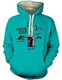 Anatomie eines schwarzen Ritters T-Shirt für Erwachsene Prämiekapuzenpullover für Erwachsene