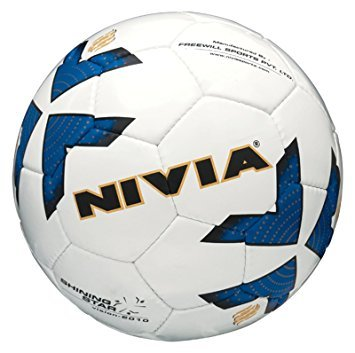 Nivia Shining Star Football Size 5  available at amazon for Rs.592