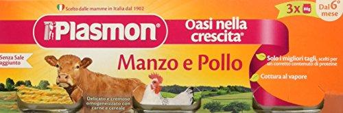 Plasmon Omogeneizzato di Carne, Manzo e Pollo