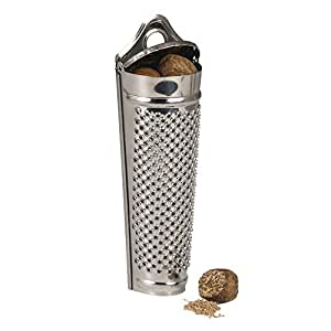 KitchenCraft Stainless Steel Spice/Nutmeg Grater and Storer
