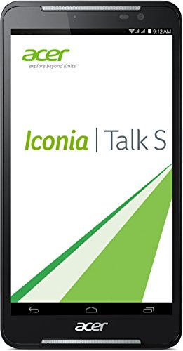 Acer Iconia Talk S (A1-724) 17,7 cm (7 Zoll HD) Tablet-PC (Qualcomm Snapdragon MSM8916, 1,2GHz, 1GB RAM, 16GB eMMC, Android KitKat 4.4, HD Display mit IPS Technologie, 4G LTE, Dual Sim) blau
