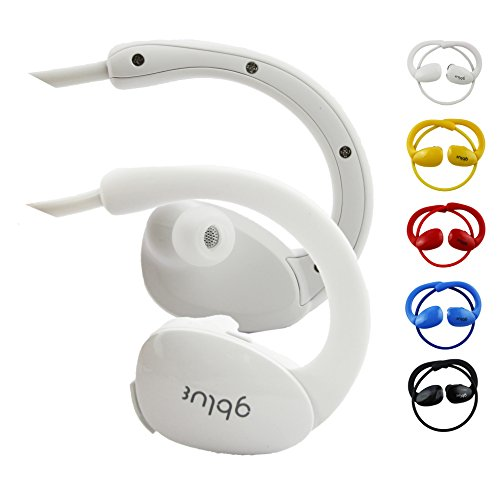 Emartbuy® Denver TAQ-10172 MK3 / Denver TAQ-10182 MK2 10.1 Zoll Tablet Gblue Weiß S80 Bluetooth Sports Kopfhörer Kabellos In Ear Stereo Freisprechen mit Mikrofon für