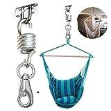 Hi Suyi Hamac Chaise balançoire à Suspendre kit Support de Plafond cintres Crochets de Suspension en Acier Inoxydable, capacité de 226,8Kilogram
