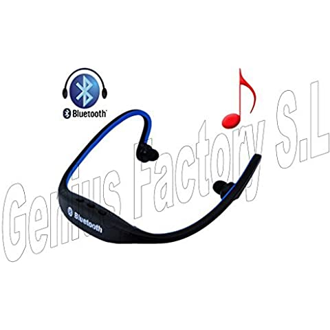Genius factory® Cuffie wireless sport Auricolare stereo Bluetooth con RADIO