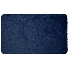 Dyckhoff Opal 0900527469 - Tappeto da bagno, 50 x 80 cm, blu oltremare