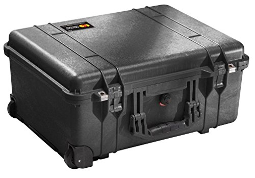 Peli 1560 with Foam, Black Review