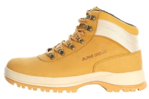 ALPINECROWN Pataugas Chaussures de randonnee Chaussures montantes Hiking Boots Homme MOUNTAIN MAN Camel