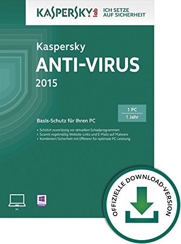 Kaspersky Anti-Virus 2015 - 1 PC [Download]
