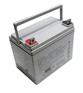 12V 35Ah MK Sealed Lead Acid (AGM) Mobility Scooter Battery