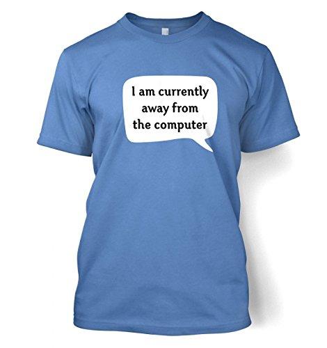 Away From Computer AFK t-shirt Carolina Blau