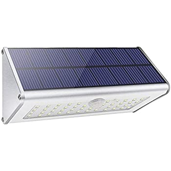 Led Solar Lights 1100lm 48 Led 4500mah Solar Powered