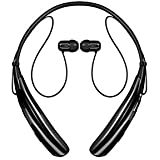 CartBug Bluetooth Headphone Headset | Music Earphones Compatible For All Mobile Phone, Smartphones Including Android And Apple Phones | Headset With Mic On The Ear Sports Headphones In Black Colour