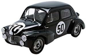 Otto Mobile - Ot110 - Véhicule Miniature - Modèle À L'Échelle - Renault 4 Cv 1063 - Le Mans 1951 - Echelle 1/18