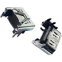 Rinbers Original PS4 Pro HDMI Puerto Display Socket Jack Interface Conector de Repuesto para Sony Playstation 4 PS4 Slim CUH-2016A CUH-20XXA 500GB Consola