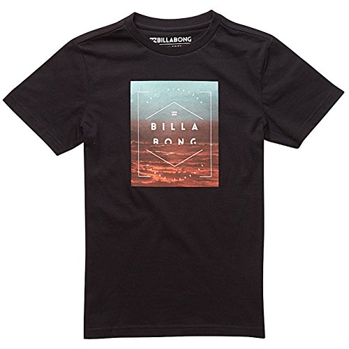Da uomo Billabong Maglietta a maniche corte, Uomo, T-shirt, Keeper Short Sleeve, Black, XL