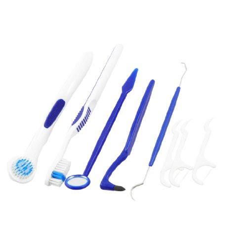 6-in-1-dental-care-tool-teeth-tongue-brush-stain-tooth-picks-kit-blue-white