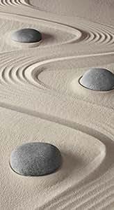 infrarotheizung glas rahmenlos mit bild 600 watt motiv steine sand baumarkt. Black Bedroom Furniture Sets. Home Design Ideas