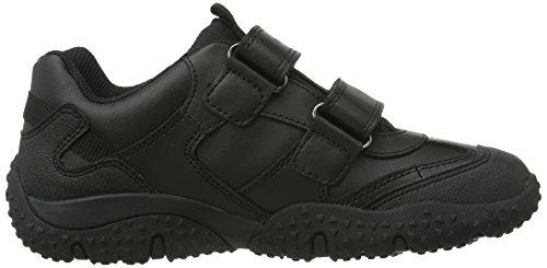 Geox JR BALTIC BOY B ABX Jungen Hohe Sneakers Schwarz (Blackc9999)