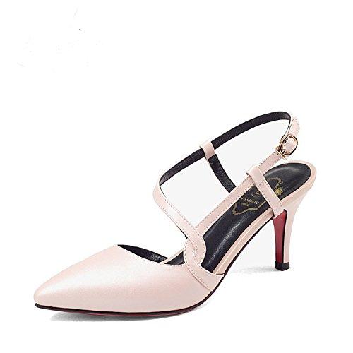 Travail chaussures fashion Lady le printemps/Chaussures à talon/Talons pointus/Chaussures d'asakuchi Joker A