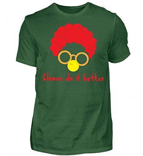 rtiges Herren Shirt - Clown - Zirkus - Geschenk - Karneval - Kostüm - Circus - Gift: Clowns Do It Better (Zirkus Kostüme Ideen Für Männer)