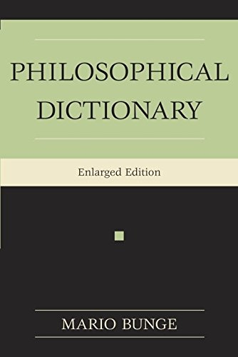 The Philosophical Dictionary por Mario Bunge