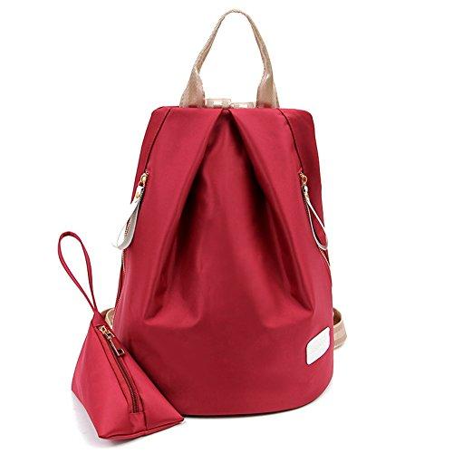 Sac à bandoulière double/La version coréenne de sac à dos/Joker fashion Lady bag-E B