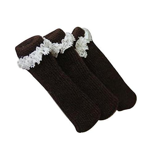 Meubles Knit Socks sol Protector Épaissir Chaise / Table Jambières 24 PCS-A1