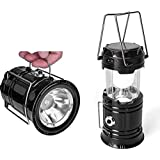 IDOLESHOP Electric & Solar Power Rechargeable with Phone Charger Emergency Light (Pack of 1)