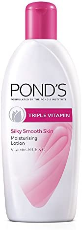 Pond's Triple Vitamin Moisturising Body Lotion, 3