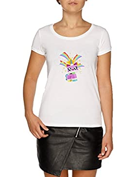 Jergley Princesa Unicornio Camiseta Blanco Mujer | Women's White T-Shirt