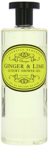 Naturally European Ginger And Lime Luxury Shower Gel, Suitable For Sensitive Skin & Everyday Use 500ml